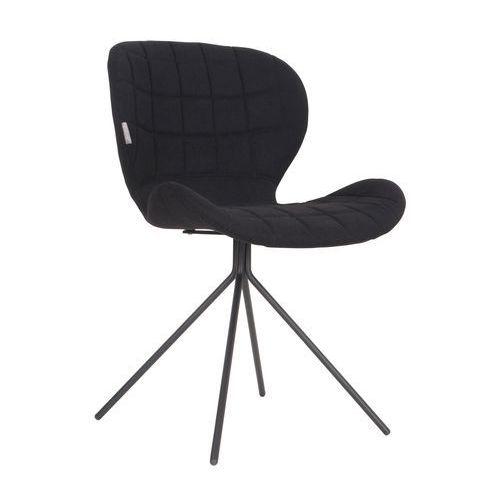 Zuiver Krzesło OMG czarne 1100170 (8718548017344)
