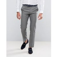 grey check heritage suit trousers - grey, Harry brown