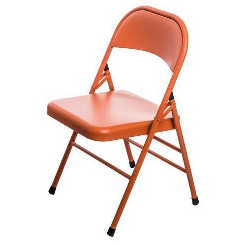 Krzesło Cotis Frosted Orange - pomarańczowy (5902385729697)
