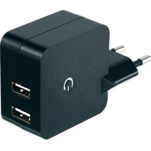 Ładowarka USB VOLTCRAFT SPS-2400/2, 2x USB, 2400 mA