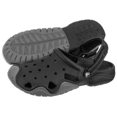 Klapki Crocs Swiftwater Clog M Black/Charcoal 202251-070 (CR111-a), kolor czarny