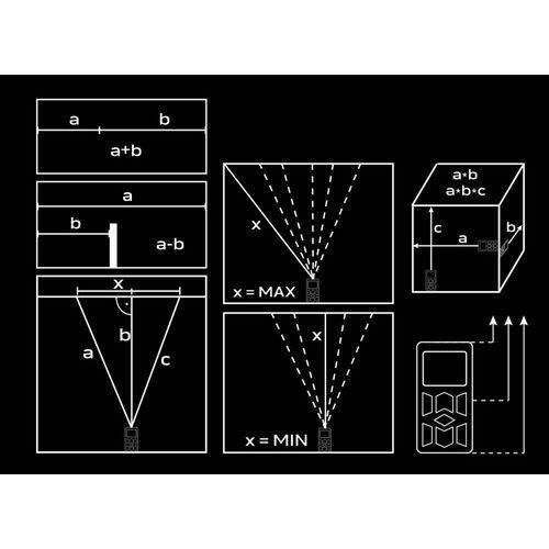 Dalmierz laserowy 75-201 marki Neo