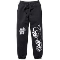 Spodnie dresowe czarny, Bonprix, S-XXL