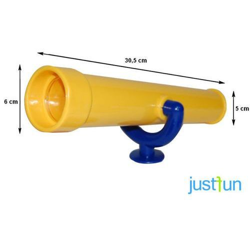 Just fun Teleskop - żółto-niebieski