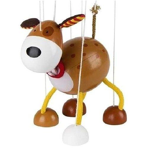 Goki Drewniana marionetka, pies