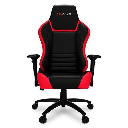 Fotel gamingowy gorgon czerwony dla graczy marki Pro-gamer