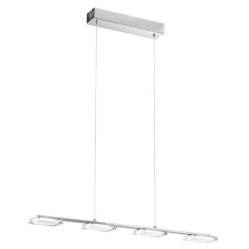 LAMPA wisząca CARTAMA 94244 Eglo metalowa OPRAWA listwa LED 18W IP20 kwadrat chrom - sprawdź w wybranym sklepie