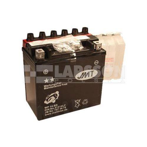 Akumulator bezobsługowy jmt ytx14-bs (wp14-b) 1100210 piaggio/vespa gts 300, bmw k 1300 marki Jm technics