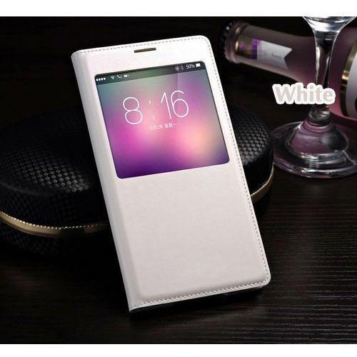 Flip Leather Biały | Etui z klapką dla Samsung Galaxy S5 / S5 Neo - Biały, kolor biały