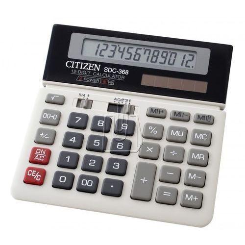 Citizen Kalkulator sdc-368 (4966006610390). Najniższe ceny, najlepsze promocje w sklepach, opinie.