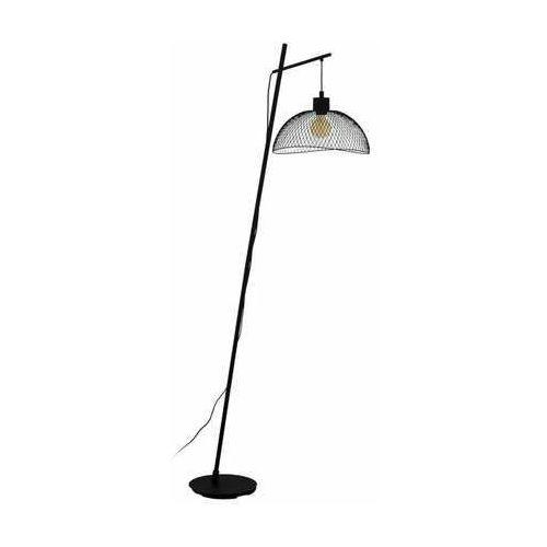 pompeya 43307 lampa stojąca podłogowa 1x60w e27 czarna marki Eglo