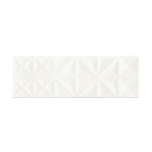 Glazura ELEGANZA SQUARES WHITE 25 X 75 ARTENS