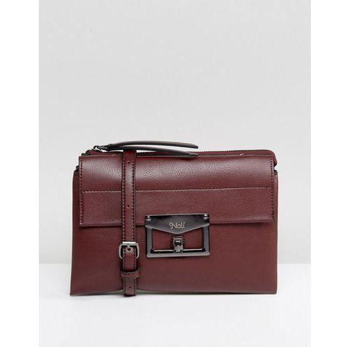 Nali Metal Detail Across Body Bag - Red, kolor czerwony