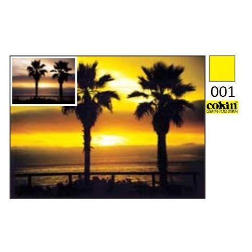 m filtr p001 yellow filtr żółty do uchwytu m (dawny p) wyprodukowany przez Cokin