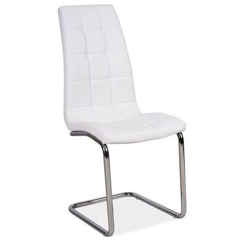 Signal Pikowane krzesło z ekoskóry h103