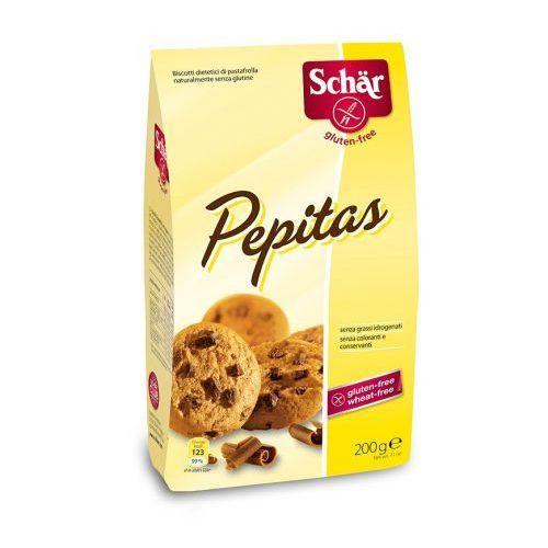 Pepitas- choco chip cookies- ciasteczka bezglutenowe 200g schar marki Schär
