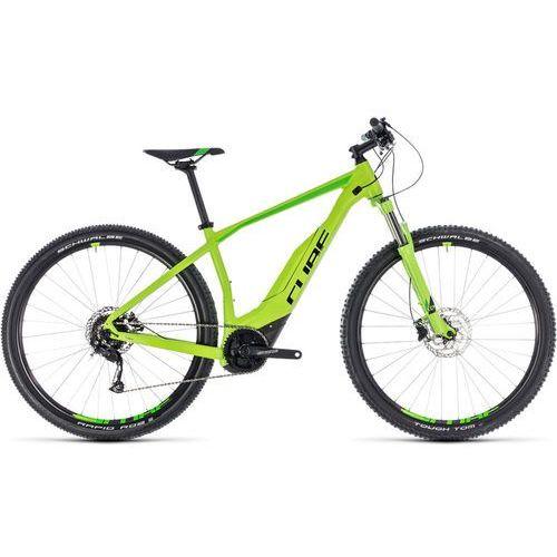 """acid hybrid one 500 rower elektryczny hardtail zielony 23""""   58,4cm (29"""") 2018 rowery górskie marki Cube"""