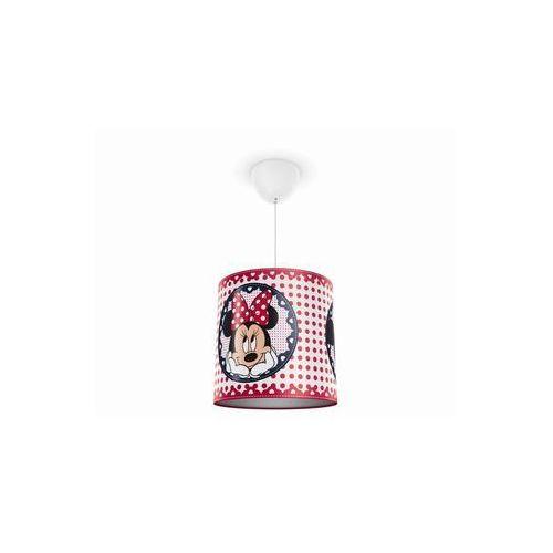 Philips 71752/31/16 - lampa wisząca dziecięca disney minnie mouse 1xe27/23w/230v (8718291532811)