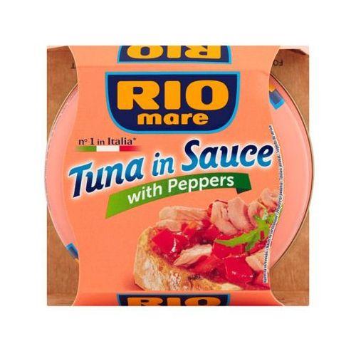 160g tuńczyk w sosie z papryką marki Rio mare