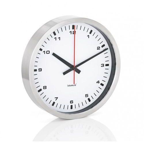 Blomus ERA - zegar ścienny z białą tarczą - 30 cm - 30 cm