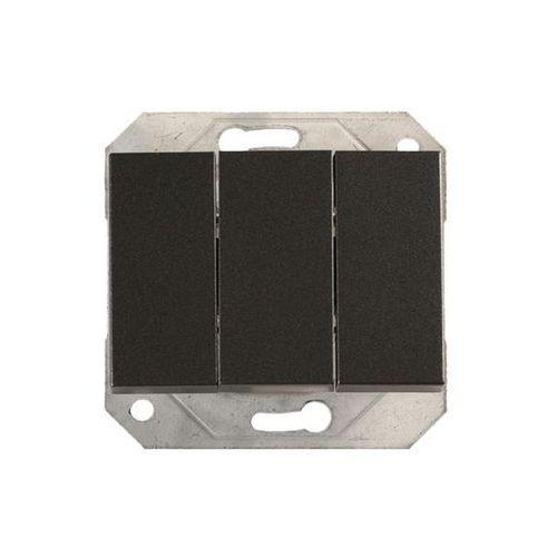 Dpm Włącznik potrójny vilma p510-030-02gr grafit
