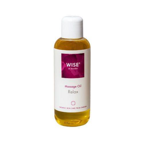 Wise naturkosmetik Ekologiczny olejek do masażu ciała antystresowy wise 250ml