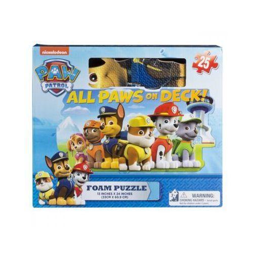 Psi patrol puzzle piankowe 25 elementów - darmowa dostawa od 199 zł!!! marki Spin master