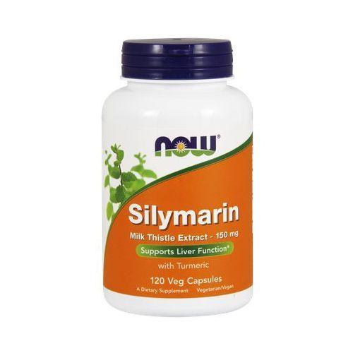 Now Foods Silymarin (Ekstrakt z ostropestu + Kurkuma) 150mg 120 kaps., produkt z kategorii- Pozostałe leki chorób układu pokarmowego