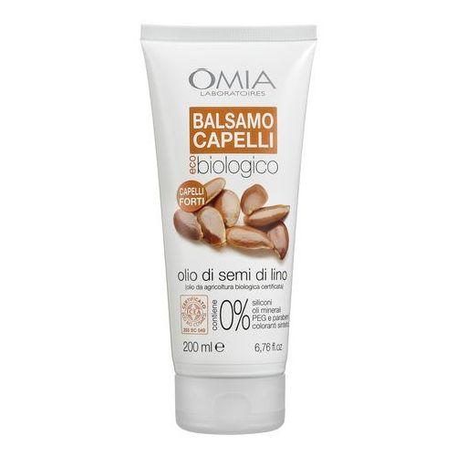 Omia laboratories balsam do włosów z olejkiem z siemienia lnianego 200ml (8021983810709)
