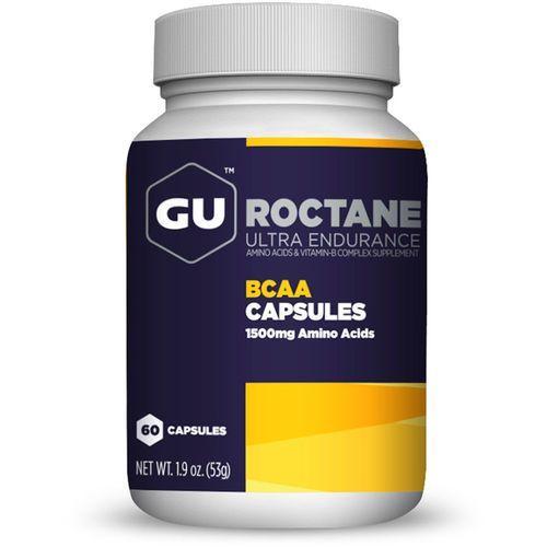 Gu energy roctane bcaa żywność dla sportowców 60 kapsułek z aminokwasami biały/czarny 2018 suplementy