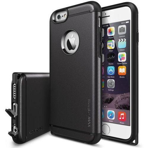 Etui Ringke MAX iPhone 6/6s Plus Czarne, kolor czarny