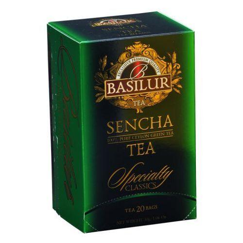 Herbata Specialty Classics Sencha 20 x 2g saszetka - BASILUR. DARMOWA DOSTAWA DO KIOSKU RUCHU OD 24,99ZŁ (4792252001268)