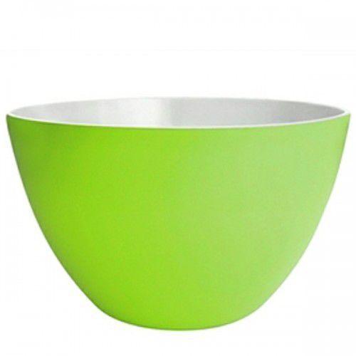 Miseczka dwukolorowa duża, zielono-biała Zak! design
