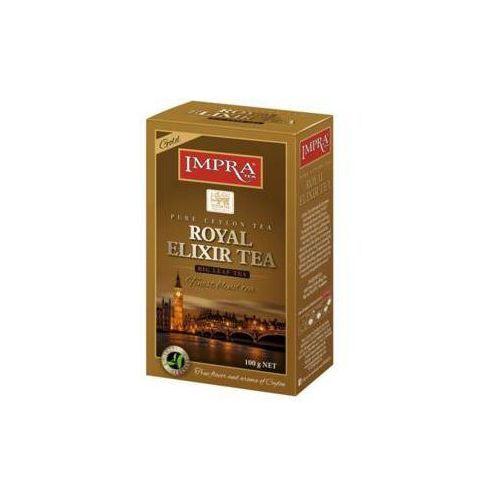 Impra tea 100g royal elixir gold herbata liściasta czarna marki Imperial tea