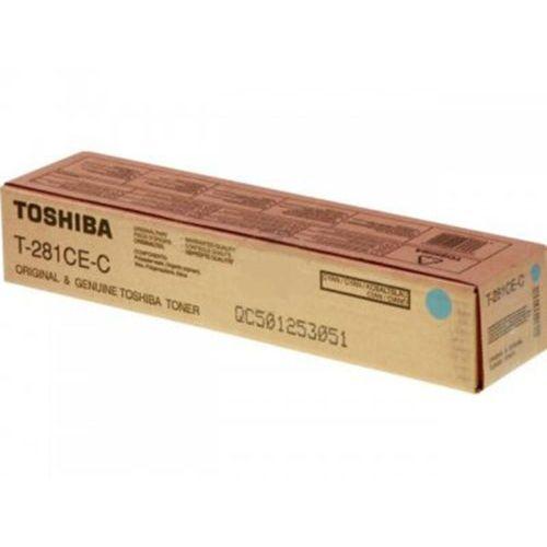 Toshiba toner Cyan T-281C-EC, T281CEC, T-281CE-C, 6AK00000046, T-281CE-C