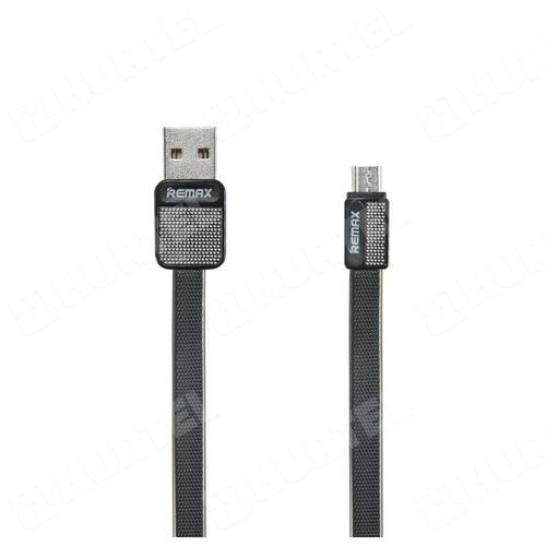 rc-043m platinum kabel micro usb 1m czarny - czarny marki Remax