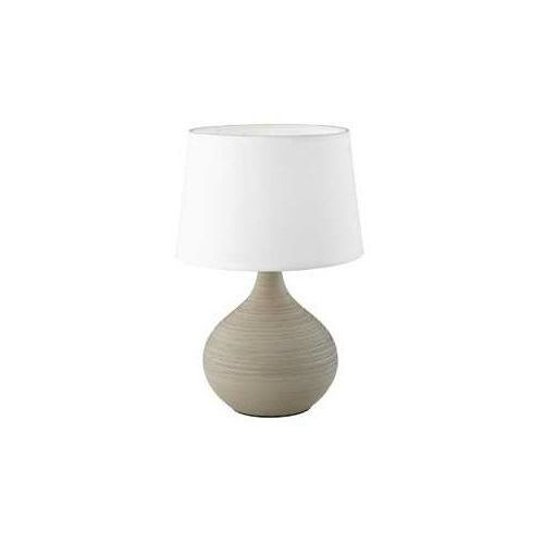 Reality MARTIN Lampa stołowa Beżowy, 1-punktowy - Dworek/skandynawski - Obszar wewnętrzny - MARTIN - Czas dostawy: od 3-6 dni roboczych (4017807346244)