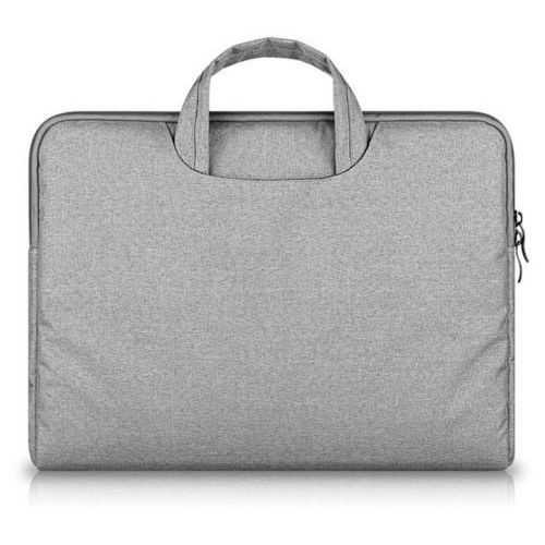 Tech-protect Torba  briefcase apple macbook air / pro 13 jasnoszary - jasnoszary