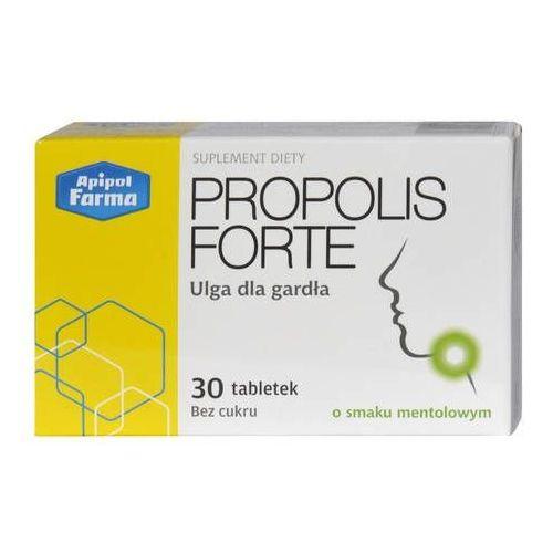 Propolis forte x 30 tabletek o smaku mentolowym marki Apipol-farma