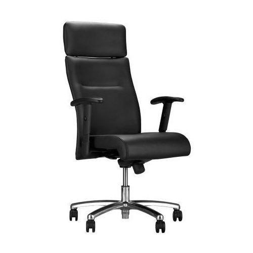 Nowy styl Fotel biurowy neo lux pl r1b steel04 chrome z mechanizmem duetto syncron