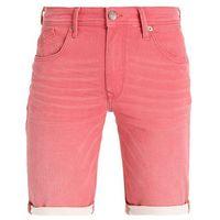 Petrol Industries SPRINGFIELD Szorty jeansowe faded red, bawełna