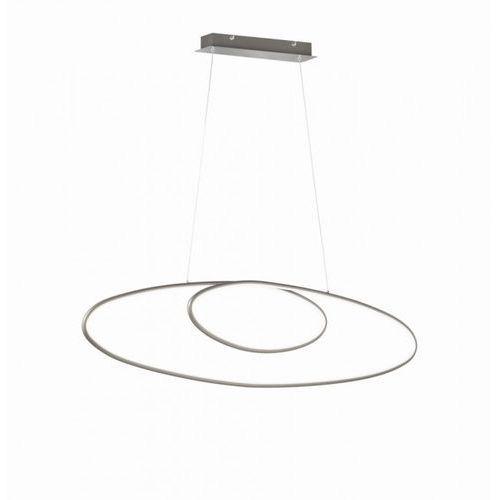 Lampa Wisząca Trio Leuchten AVUS LED Nikiel matowy, 1-punktowy - Nowoczesny - Obszar wewnętrzny - AVUS - Czas dostawy: od 3-6 dni roboczych (4017807423396)