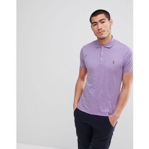 Polo Ralph Lauren Slim Fit Pima Jersey Polo Multi Player in Lilac Marl - Purple, 1 rozmiar