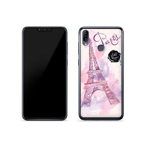 Asus Zenfone Max (M2) (ZB633KL) - etui na telefon Fantastic Case - różowa wieża eiffla, ETAS837FNTCFC104000