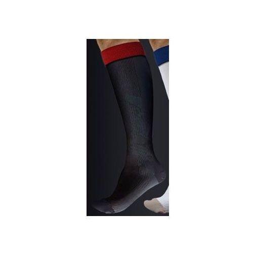 Podkolanówki sportowe kompresyjne medyczne z tlenkiem miedzi active effect sport - unisex (ucisk i klasy 21mmhg) - antistress - kolor czarny marki Antistress (włochy)
