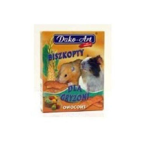 Dako-art Dako art biszkopty dla gryzoni owocowe 50g