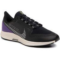 Buty - air zoom pegasus 36 shield aq8005 002 black/silver/desert sand marki Nike