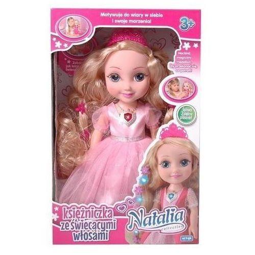 Lalka natalia ksieżniczka ze świecącymi włosami marki Artyk
