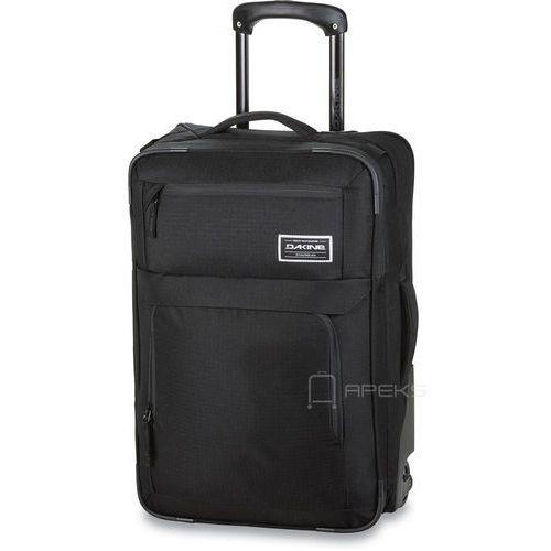 Dakine Carry On Roller 40l Black torba podróżna na kółkach / walizka kabinowa
