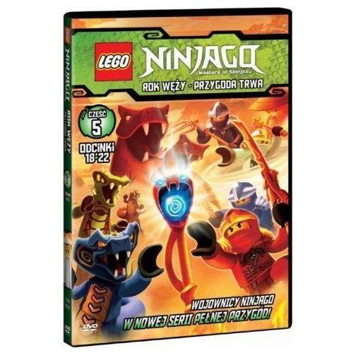 Lego ninjago. rok węży. przygoda trwa. część 5. odcinki 18-22 (dvd) marki Galapagos